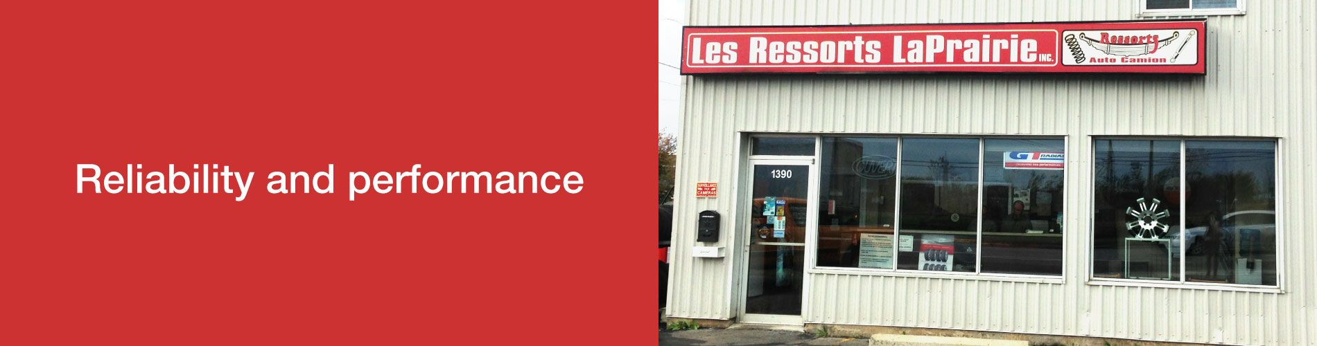 Reliability and performance | Store Front